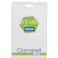 Carte iCLASS 2 Kbits - CLAMSHELL