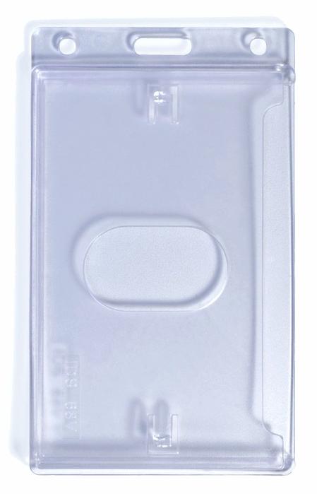 Badge Rigide Cartes Vertical - Porte badge rigide